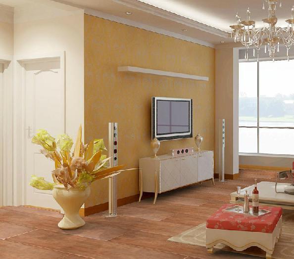 美式乡村风格客厅卧室防木纹全瓷 仿古砖地砖