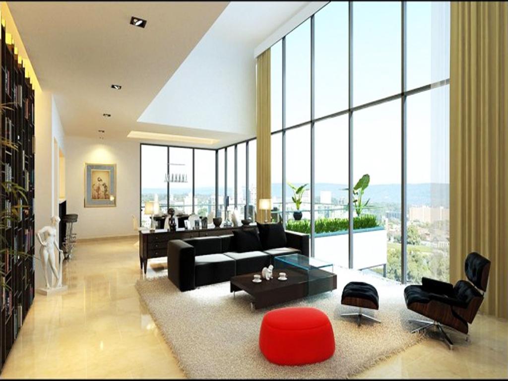 公寓式客厅效果 客厅效果图,家装效果图,装修效果图,室内设