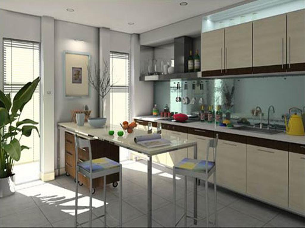 家装设计费 公寓式厨房效果