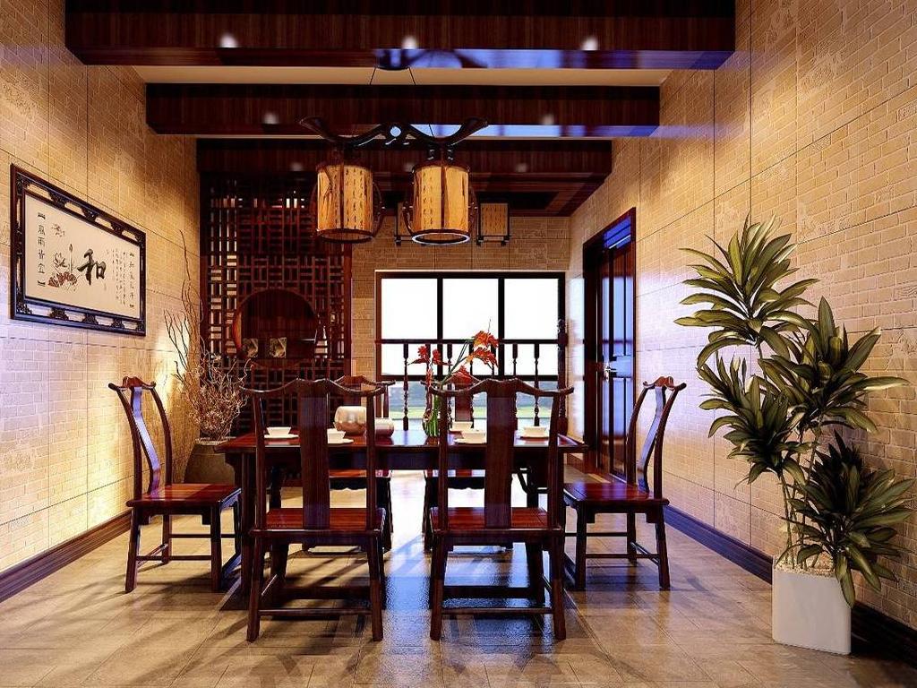 公寓式餐厅 餐厅效果图,家装效果图,装修效果图,室内设计效