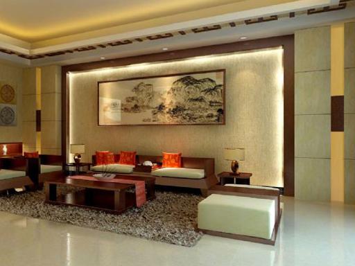 屏风、隔断、背景墙:沙发背景墙