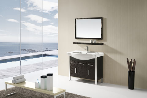 卫生洁具:浴室柜