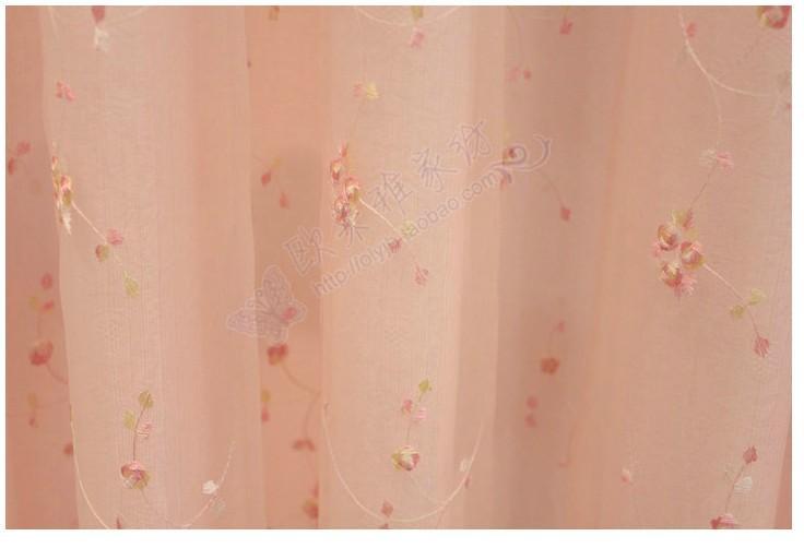 田园风格韩式蕾丝窗帘婚房儿童房时尚浪漫田园小花